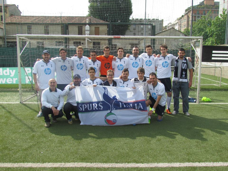 Spursitalia presente al secondo torneo 'Italian Connection' di Milano, 2014.